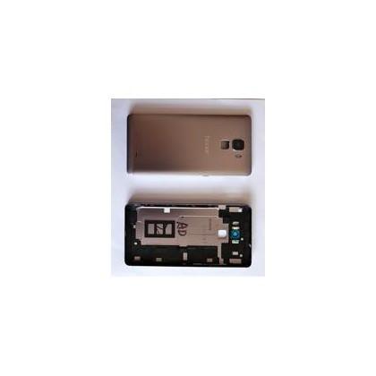 Capac Baterie cu geam camera si Blitz , senzor de amprenta ,Huawei Honor 7 Grey Original Swap