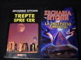 TREPTE SPRE CER+LA INCEPUTUL TIMPULUI-ZECHARIA SITCHIN-368 PG +352 PG-