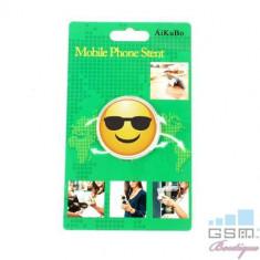 Suport Telefon iPhone Samsung Nokia HTC Stand Finger Grip Fata Zambitoare Cu Ochelari Universal, Apple