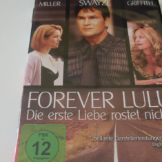 forever lulu -patrik swayze - dvd