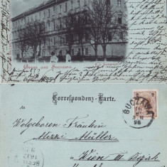 Salutari din Suceava  (Bucovina )- rara-clasica, editura Leon Konig