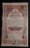 Actiuni Banca Dambovita - Targoviste 1928