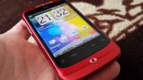 HTC.Wildfire.A3333.Pink, Rosu, Neblocat