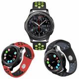 Curea de silicon 22mm smartwatch Samsung Galaxy Watch / Gear S3 Classic Frontier
