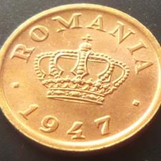 Moneda ISTORICA 50 BANI - ROMANIA REGAT, anul 1947  *cod 3884 = UNC SACULET BNR