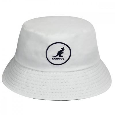 Palarie alba Kangol Cotton Bucket (Masura: M) - Cod 78783544 foto
