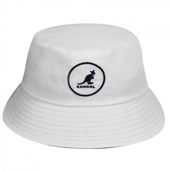 Palarie alba Kangol Cotton Bucket (Masura: M) - Cod 78783544