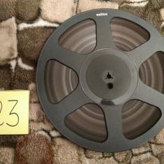 23.Banda Magnetofon REVOX rola policarb.26cm-Black (Akai,Teac,Tascam,Agfa,BASF)