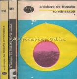 Cumpara ieftin Antologie De Filozofie Romaneasca I-III - Biblioteca Pentru Toti