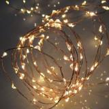 Ghirlanda 80 micro LED-uri, lungime 7.9 m, exterior, alb cald, Home
