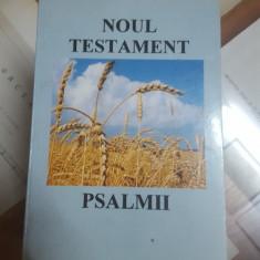 Noul Testament, Psalmii, București 1998