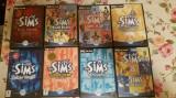 Vand pachet de 8 jocuri ,seria SIMS , PC,calculator