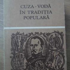CUZA-VODA IN TRADITIA POPULARA - NECUNOSCUT