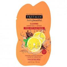 Masca de curatare antioxidanta FREEMAN Clearing Sweet Tea + Lemon Clay Mask 15 ml