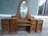 mobila veche cires toaleta oglinda ca. 70 ani necesita reconditionare oferte