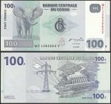 = CONGO - 100 FRANCS - 2007 - UNC   =