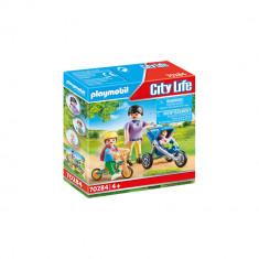 Playmobil City Life - Mama cu copii