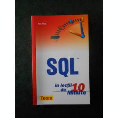 BEN FORTA - SQL IN LECTII DE 10 MINUTE