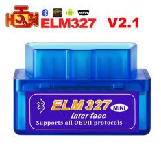 Diagnoza Auto Elm327 Mini Bluetooth OBDII OBD2 versiunea 2.1