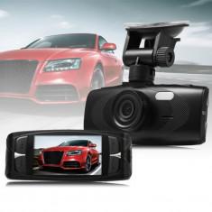 Camera Video DVR Auto H320, Senzor Samsung Ultra Clear,Full HD 1080P + Card 16GB foto