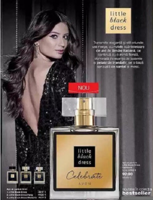 Apa de parfum Little Black Dress Celebrate 50 ml- Avon foto