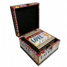 Set 2 cutii depozitare - diverse imprimeuri WZ-JC27