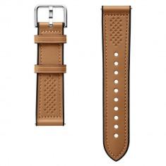Curea piele Spigen Retro Fit Samsung Galaxy Watch 3 (45mm) / Galaxy Watch (46mm) / Gear S3 Brown