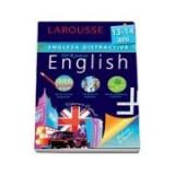 Engleza distractiva 13-14 ani. 100 exercitii progresive, 100 de jocuri didactice, 100 medalioane culturale - Larousse