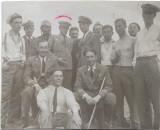 Fotografie ofiteri aviatie Scoala pilotaj Buzau 1933 regalista