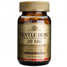 Fier (Gentle Iron), 20mg, 90cps, Solgar