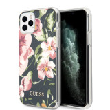 Cumpara ieftin Husa Cover Guess Flower pentru iPhone 11 Pro Max Albastru
