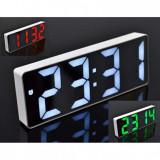 Ceas Digital cu Alarmă GH0712L, Display LED, Funcție Snooze, Temperatură