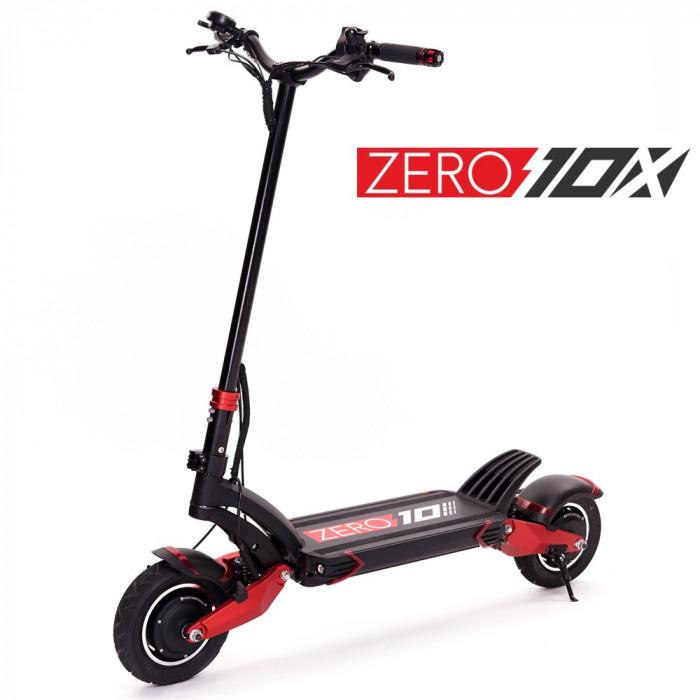 Trotineta electrica ZERO 10X 2 x 1000W, acumulator LG 52V 24Ah, frane hidraulice