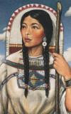 SUA , Personaj din istorie,Sacagawea (Femeia pasare) - Laramie statul Wyoming, Necirculata, Printata