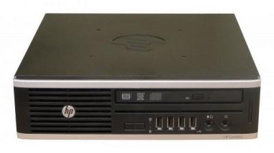Calculator HP Compaq Elite 8200 Desktop USDT, Intel Core i5 Gen 2 2500S 2.7 GHz, 4 GB DDR3, 250 GB HDD SATA, DVDRW, Windows 10 Pro, 3 Ani Garantie foto