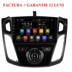 Navigatie Gps Android 9.0 Ford Focus 2012 - 2018 , Display Touchscreen 10.1 ""