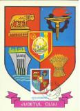 TSV* - MAXIMA CLUJ - STEMA JUDETULUI HERALDICA `78 STAMPILA 2