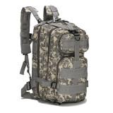 Rucsac Military Tactical Assault Molle Gri Camo Digital, 25 L