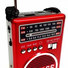 Radio cu lanterna, usb si mp3