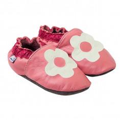 Papucei piele White Margaret