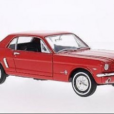 Macheta Ford Mustang Coupe - Welly  scara 1:24