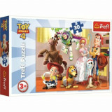 Puzzle Trefl Toy Story 4 - Pregatiti de joaca, 30 piese