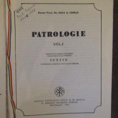 PR PROF IOAN COMAN, PATROLOGIE VOL.1 PARINTII APOSTOLICI,1984