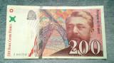 200 Francs 1999 Franta / franci Gustave Eiffel