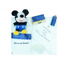Trusou botez baieti Mini Bimbi Mickey Mouse TMB-06, Multicolor
