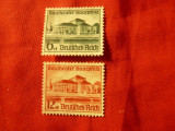 Serie SAAR 1938 - Teatrul , 2 valori , fara guma, Nestampilat