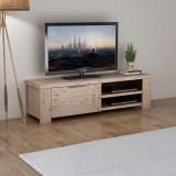 vidaXL Comodă TV din lemn masiv de salcâm șlefuit 140x38x40 cm