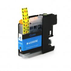 Cartus compatibil LC 223C Cyan pentru imprimante Brother, cantitate 10 ml
