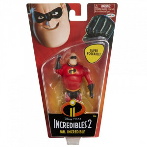 Pincredibles 2 4 basic figures - mr. incredible/p