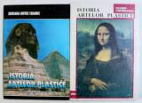 ISTORIA ARTELOR PLASTICE de ADRIANA BOTEZ CRAINIC , VOL. I - II , 1996 - 1997